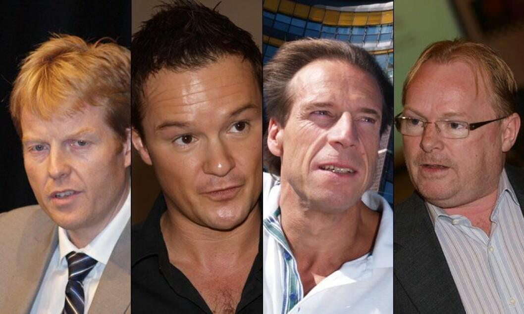Pål Lønseth, André Oktay Dahl, Jan Bøhler og Per Sandberg.