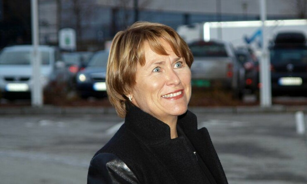 Grete Faremo på PFs landsmøte i Molde i 2012.