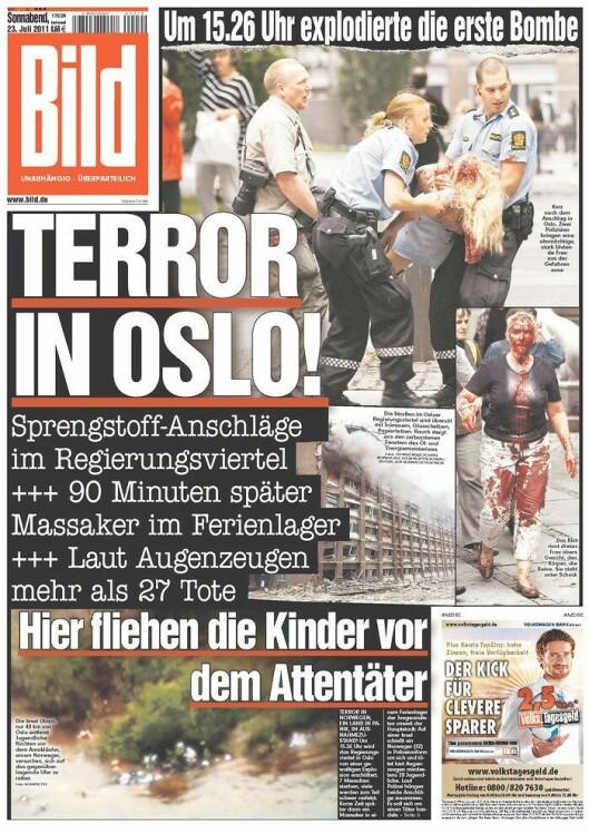 Faksimile bombeangrep Oslo