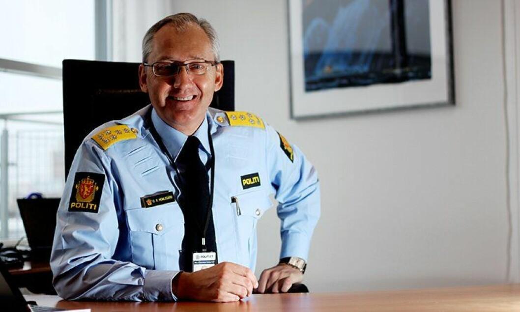 - Selv om lensmannskontoret blir borte, så skal ikke politiet forsvinne, lover politidirektør Odd Reidar Humlegård.