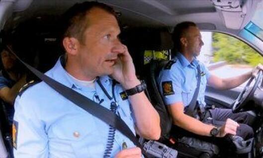 Politibetjentene Øyvind og Christian fra Bergen var med i TV Norge-serien Nattpatruljen.