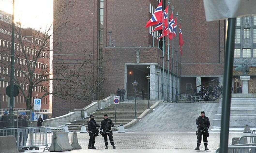 Nobelprisutdelingen i Oslo 2012.