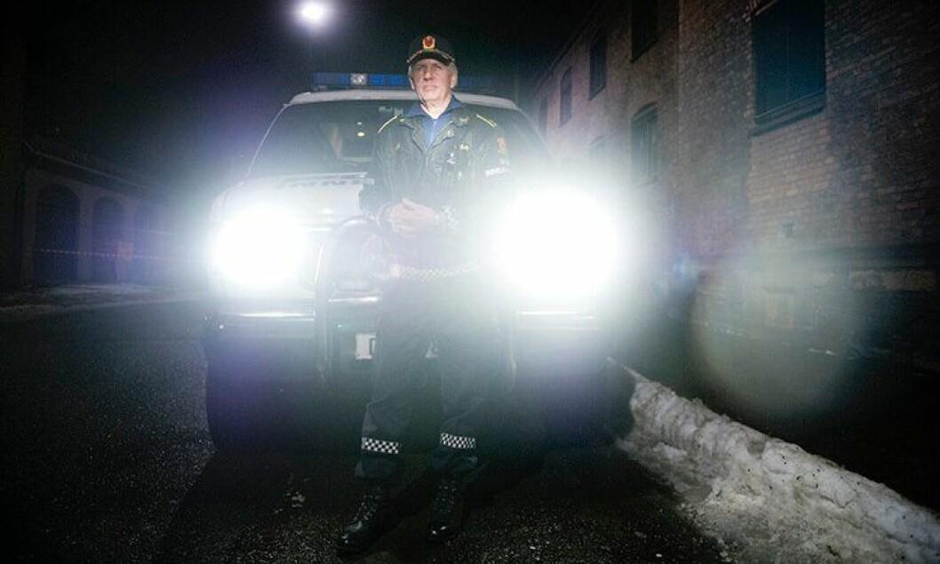 Innsatsleder Thor Langli i Oslo politidistrikt.