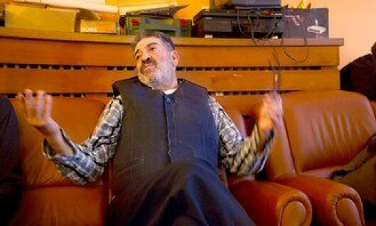 Fredsdommer Hassan Allouche i Berlin.