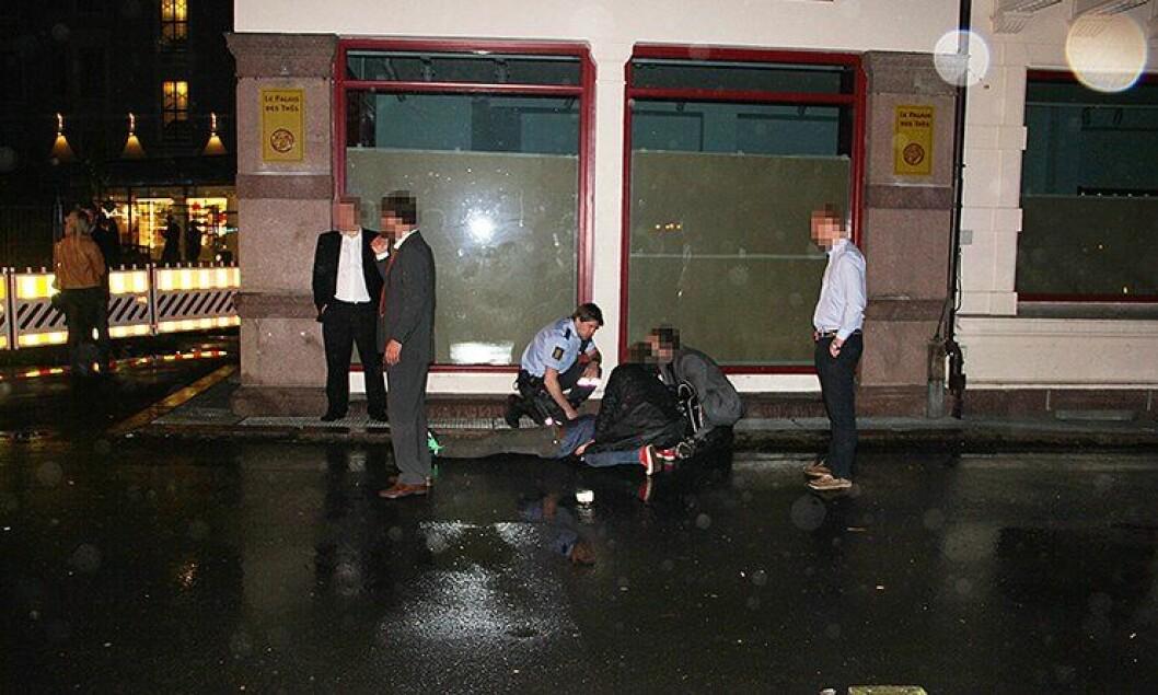 Politispaneren ble brutal overfalt i mai 2012.