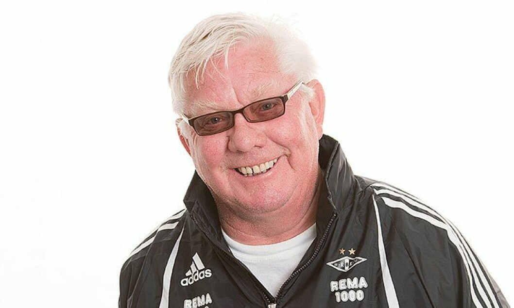 Mangeårig Rosenborg-trener Nils Arne Eggen.