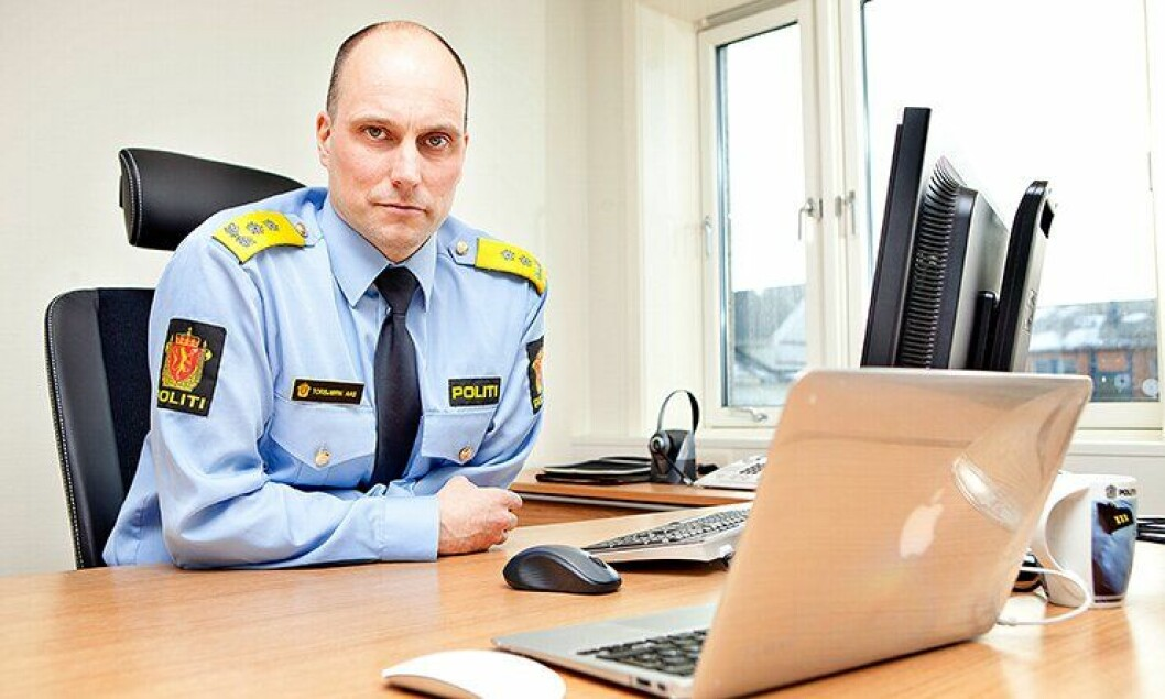 Politimester Torbjørn Aas i Vestfinnmark politidistrikt.