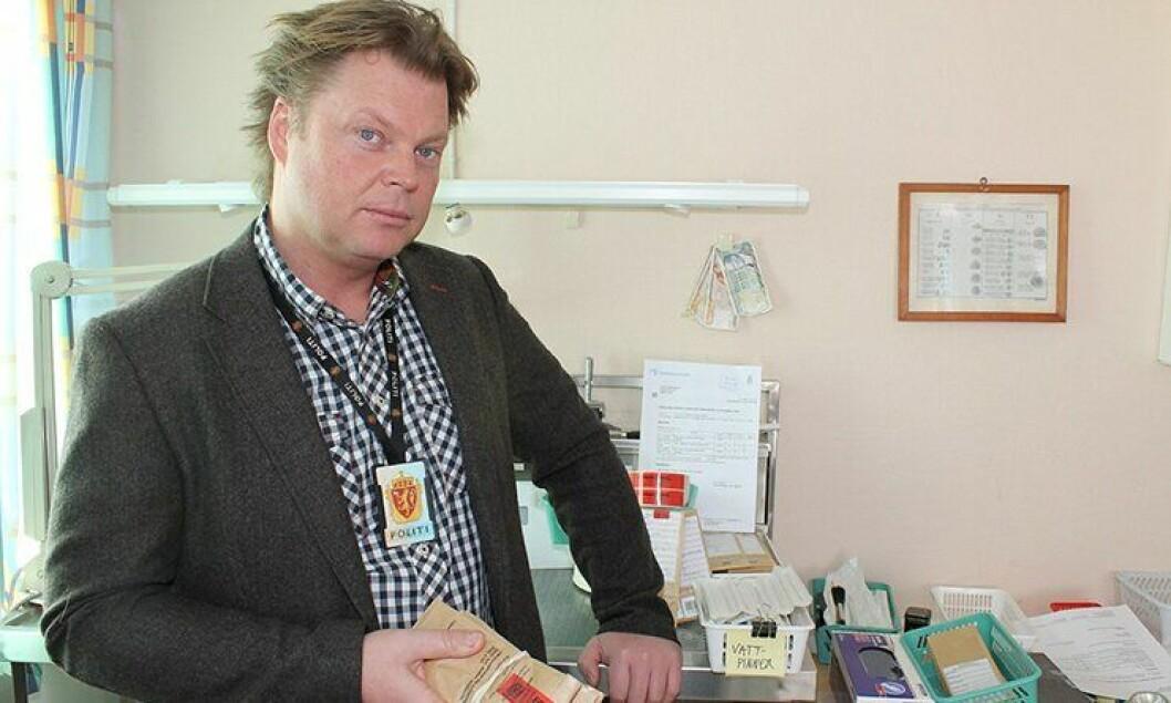 Politimann og forfatter Jørn Lier Horst.