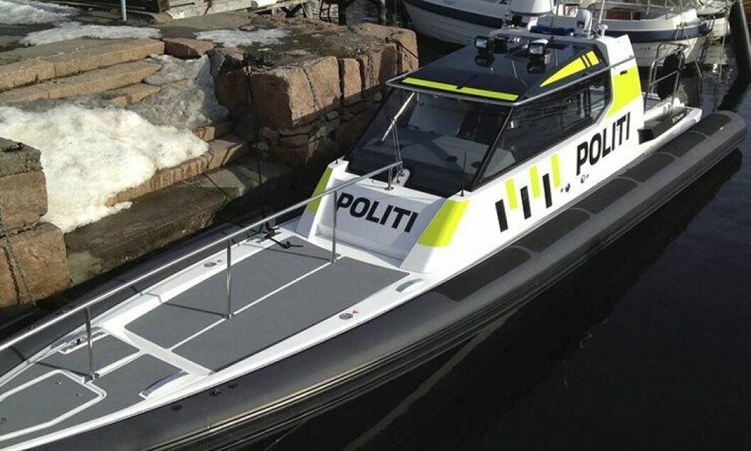 Hordaland politidistrikts nye politibåt.