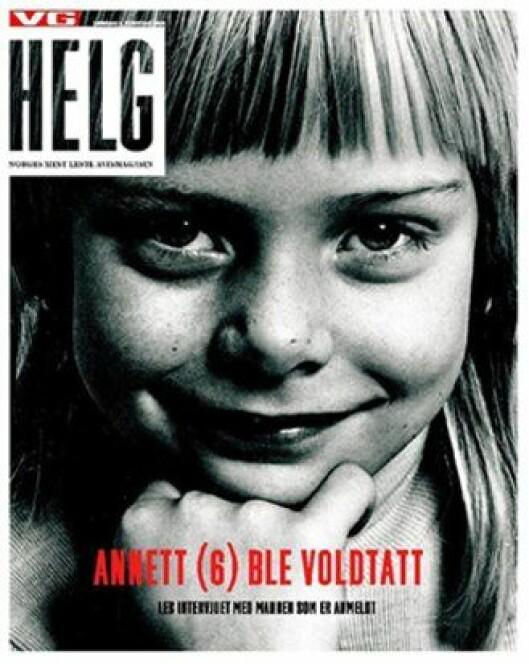 Faksimile fra VG Helg.