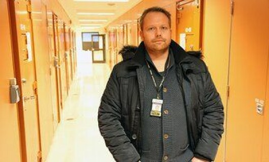Hovedtillitsvalgt arrestforvarer Pål Klethagen ved Oslo sentralarrest.