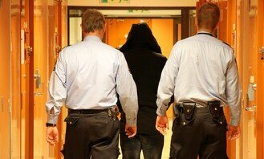 Arrestforvarere i Oslo sentralarrest.