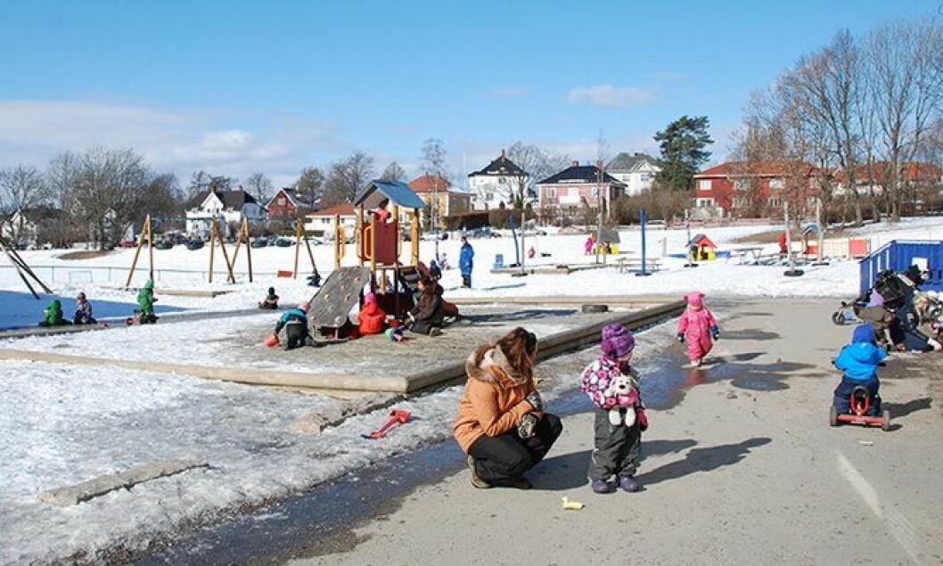Barnehage i Oslo.