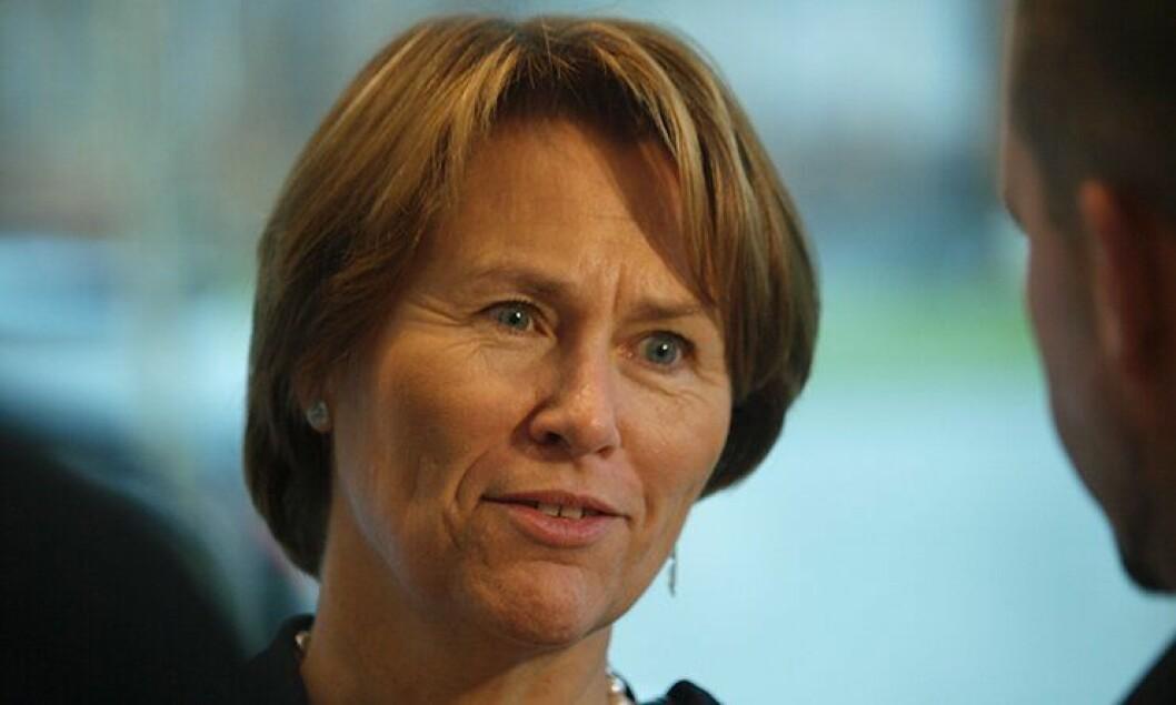Justisminister Grete Faremo (Ap).
