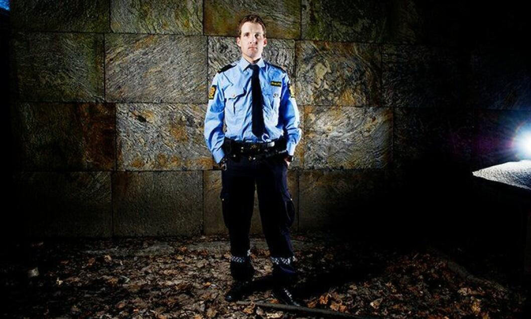 Politibetjent Eirik Sannes.