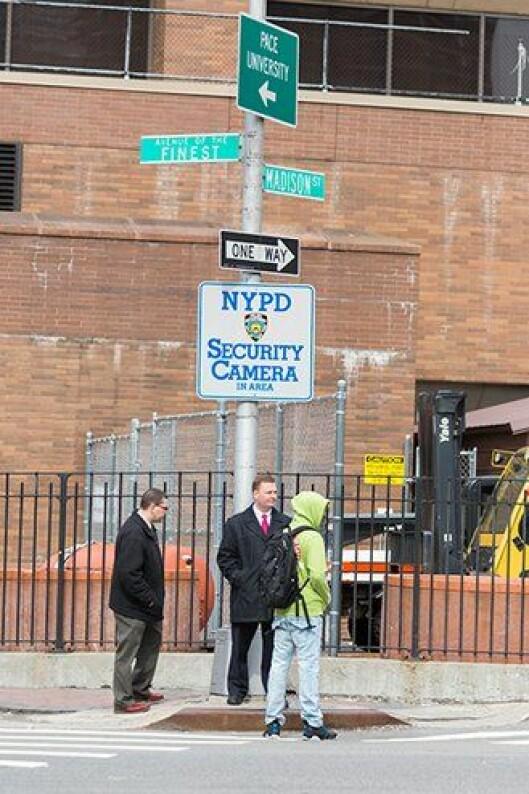 Videoovervåkning i New York