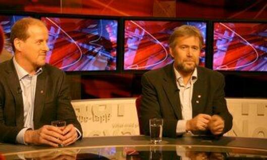 Arne Johannessen på Tabloid på TV2, i 2009.