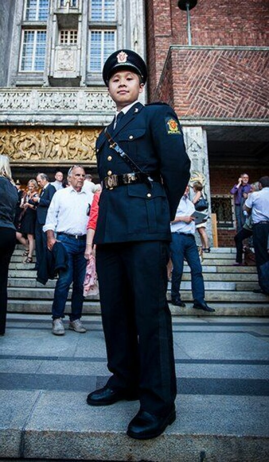 Khoa Lu, nyutdannet politistudent fra Politihøgskolen (PHS) i Oslo