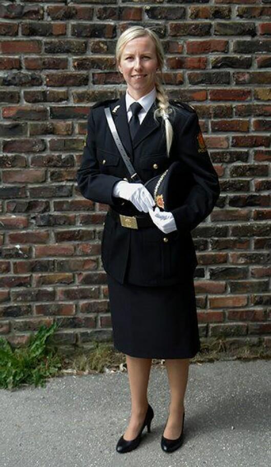 Turid-Eline Kviseth, nyutdannet politistudent fra Politihøgskolen (PHS) i Bodø.