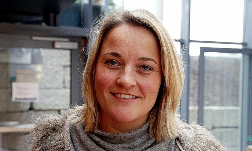 Unn Alma Skatvold, nestleder i Politiets Fellesforbund (PF).
