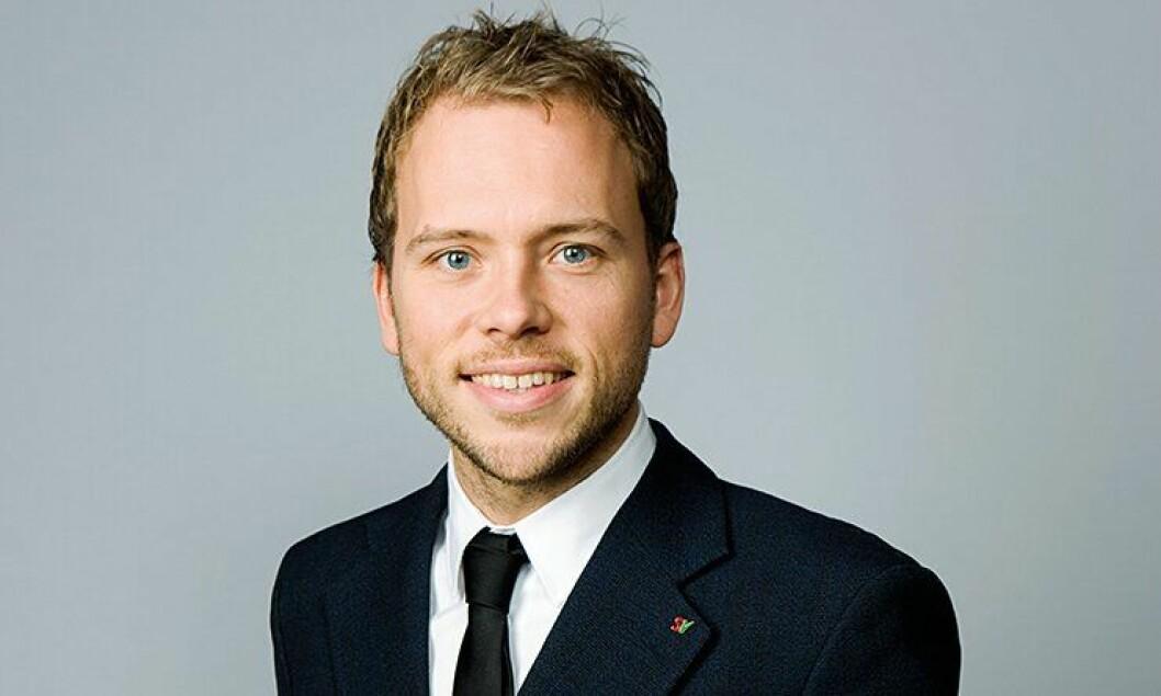 Audun Lysbakken, partileder SV.