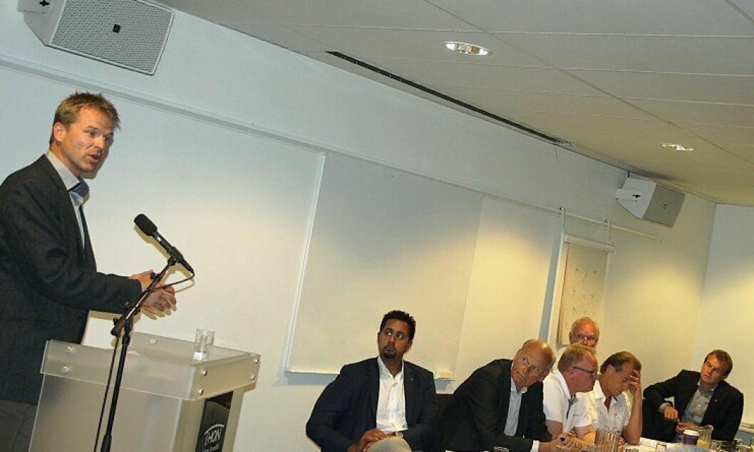 PF-leder Sigve Bolstad har brukt mye tid på å møte de enkelte partiene i forkant av valget. 12. august 2013 stilte han opp til kriminalpolitisk debatt under Arendalsuka.