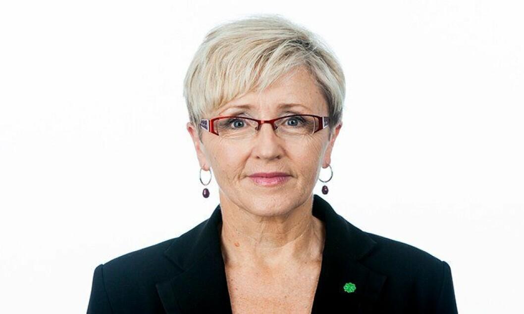 Liv Signe Navarsete, partileder Senterpartiet.