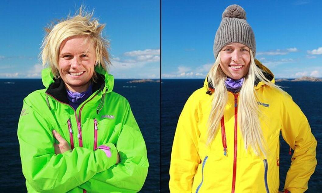 Fengselsbetjent Erica Solberg og politibetjent Marita Nakken deltar i 71 grader Nord.