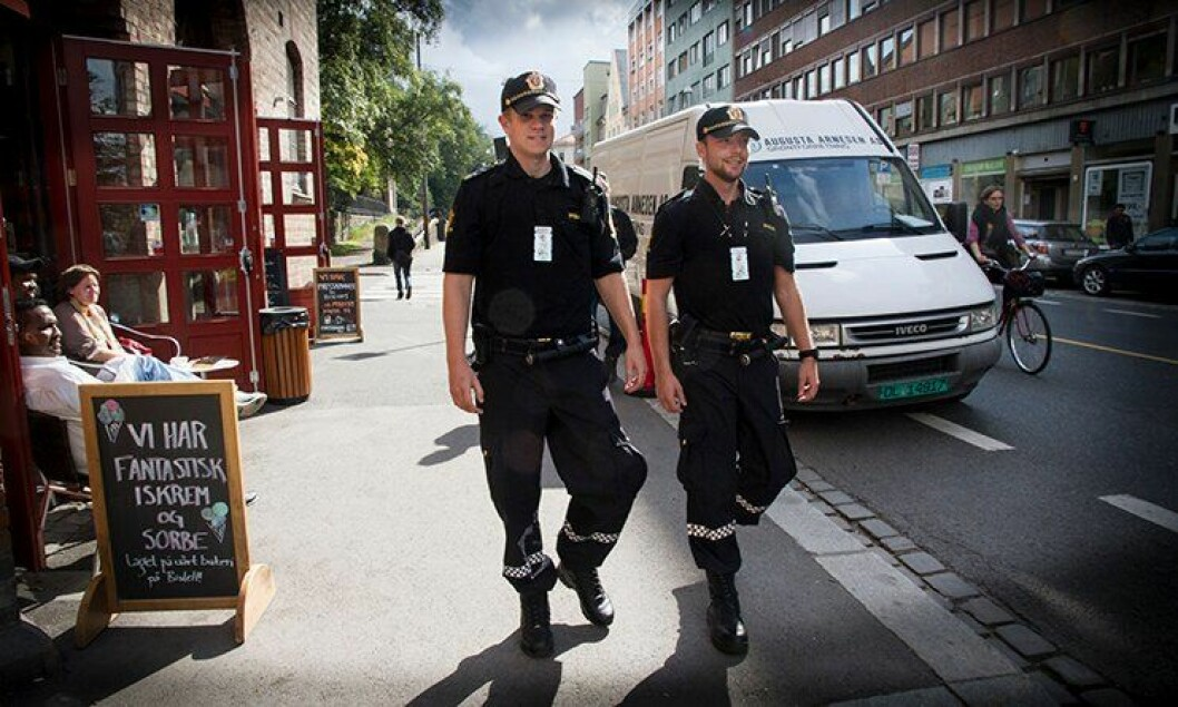LANDETS HØYESTE TILLIT: Ifølge Politiets innbyggerundersøkelse 2017 troner Oslo politidistrikt i toppen når det gjelder å ha størst tillit hos befolkningen.