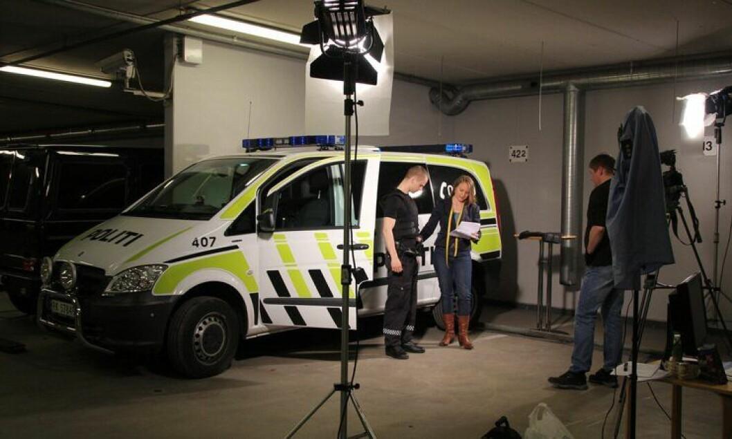 Filinspilling om skuddbeskyttende verneutstyr i Stavanger