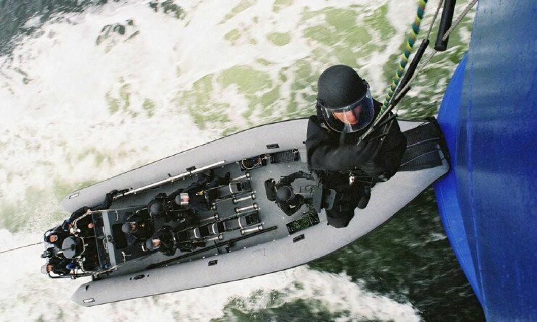 Beredskapstroppen (Delta) skal styrkes med flere nyansettelser. Her fra en øvelse i 2006.