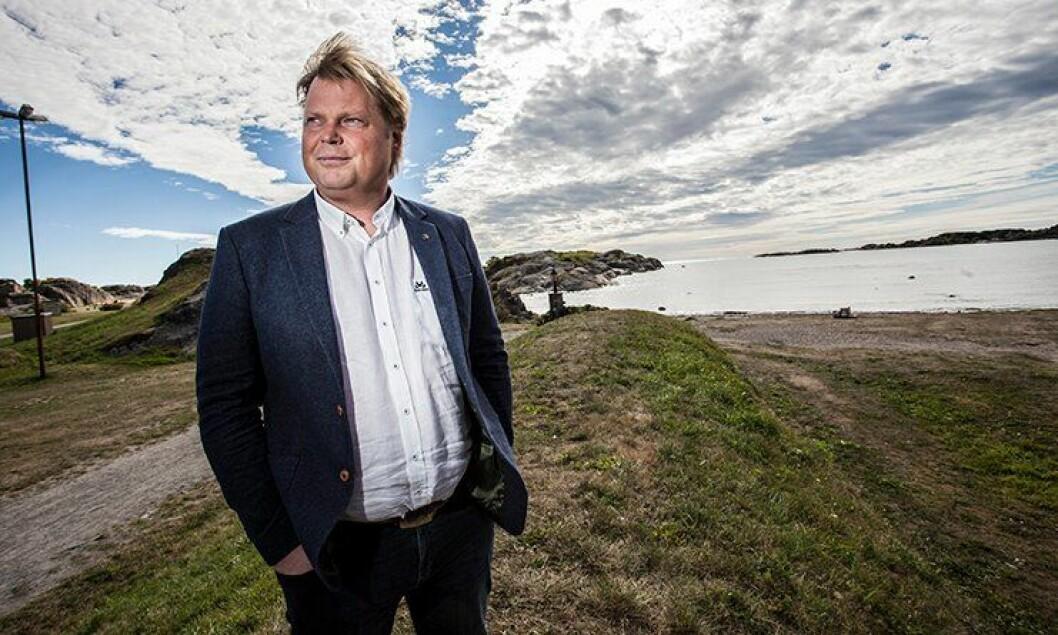 Jørn Lier Horst har lagt politikarrieren på hylla, og blitt krimforfatter på heltid.