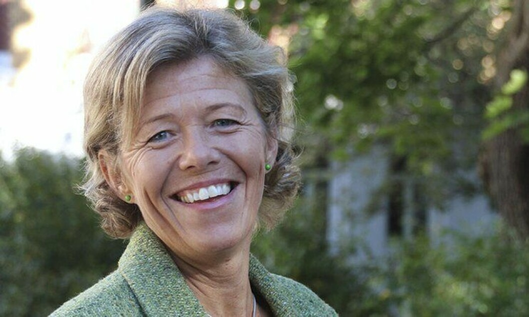 Karin Aslaksen, sjef for HR-avdelingen i Politidirektoratet.