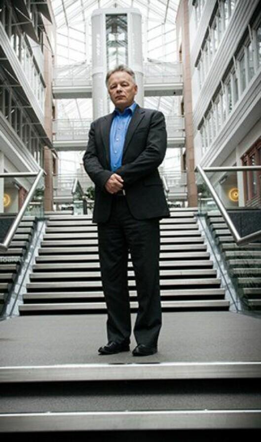 Mark Cleverly fra IBM jobber med forutseende politiarbeid.