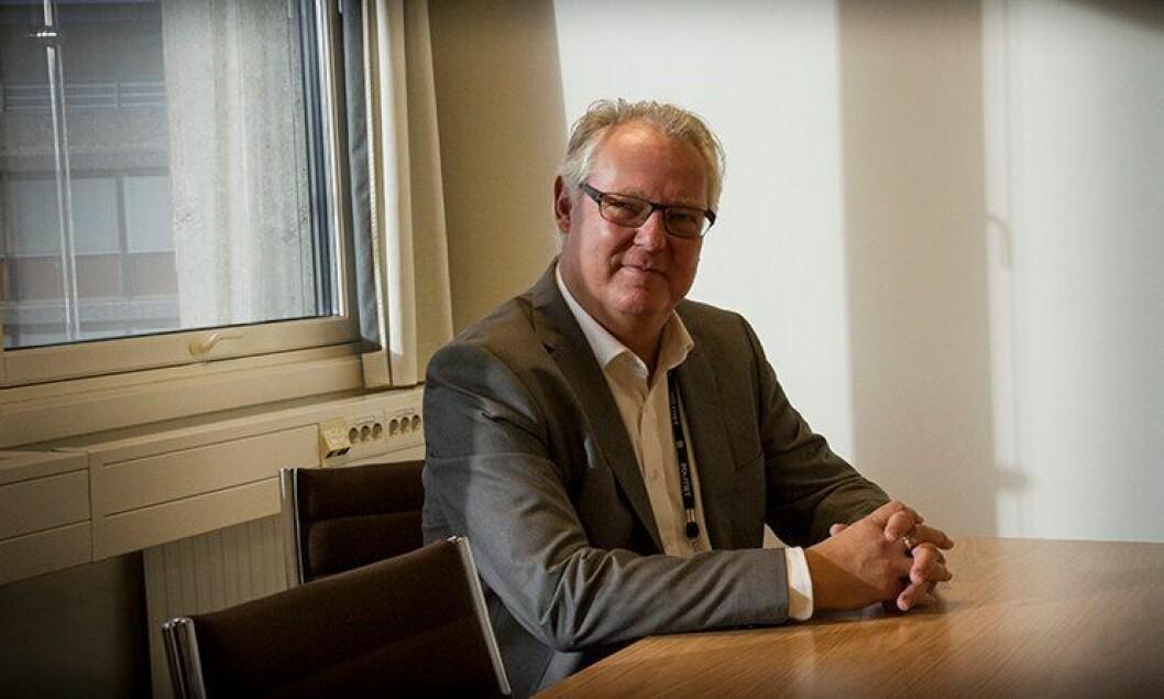 """Tidligere direktør for PDMT og nå fungerende sjef for """"Politiets Fellestjenester"""", Lars Henrik Bøhler."""