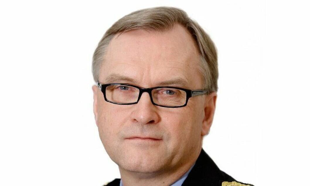 Politimester Hans Sverre Sjøvold i Oslo politidistrikt.