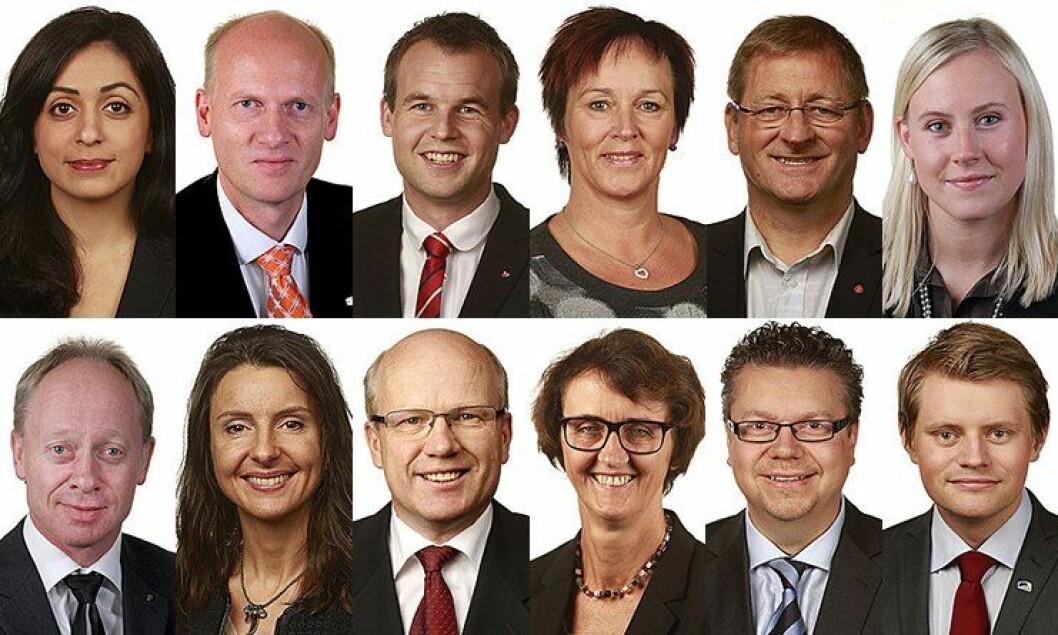 Justiskomiteen på Stortinget 2013-2017.