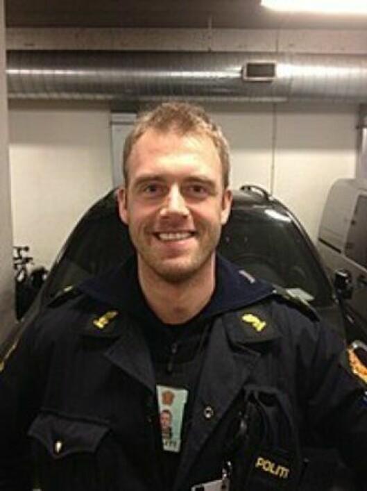 Krister Sæther, verneombud ved Bergen sentrum politistasjon