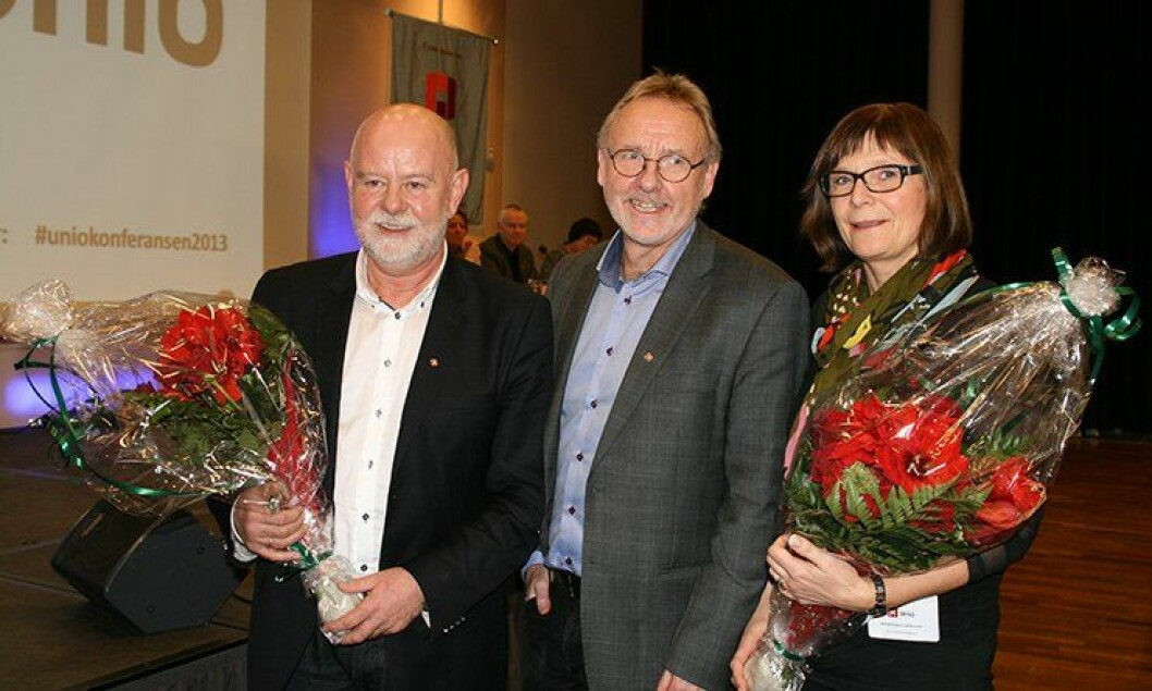 Anders Folkestad ble gjenvalgt som Unio-leder for to nye år. Med seg får han de to nestlederne Solveig Bratseth (nestleder i Norsk Sykepleierforbund) og Terje Skyvulstad (nestleder i Utdanningsforbundet).