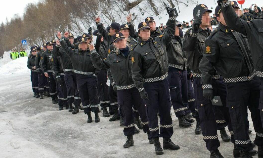 130 personer søkte på et vikariat i Vestfold politidistrikt. (illustrasjonsfoto)