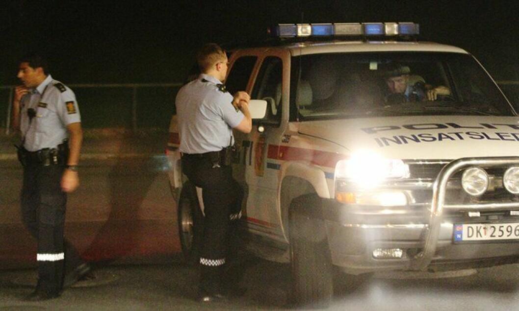 Det er langt mer ressurskrevende å ha politifolk på jobb om natten enn på dagtid.