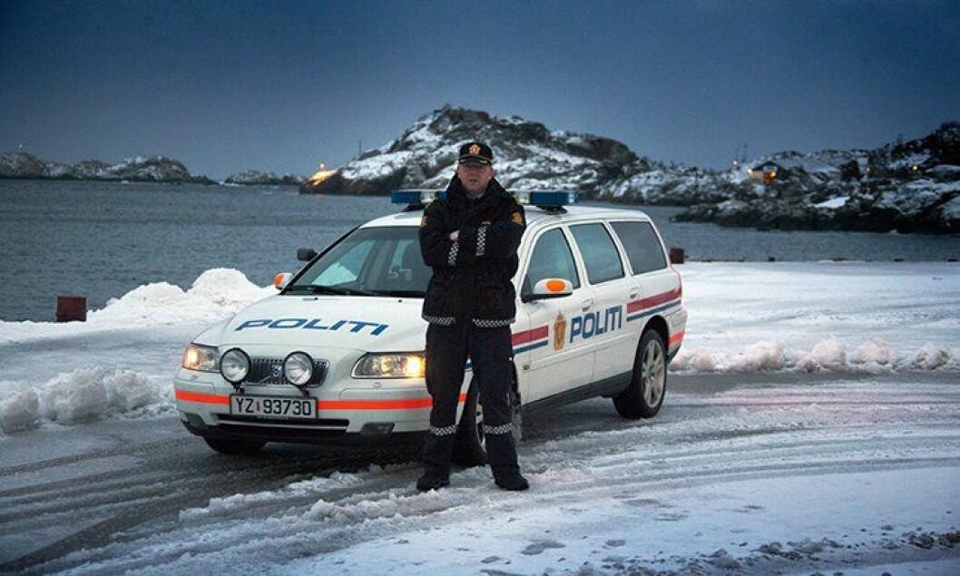 Politiførstebetjent Mons Klaussen i Midtre Hålogaland politidistrikt.