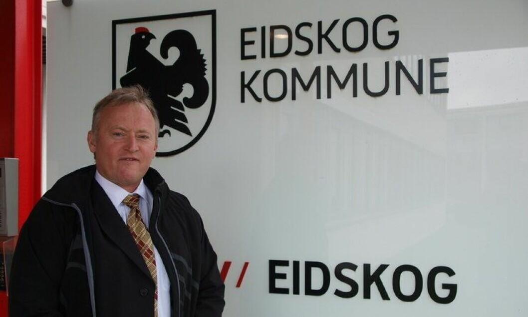 Romantisk ordfører: Knut Gustav Woie i Eidskog kommune.