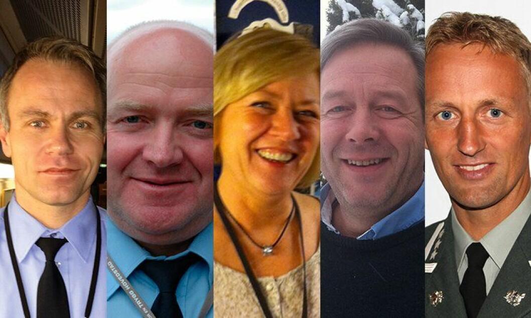 Helge Mehus, Johan Fredriksen, Anne Kjersti Svendsen, Ernst Olav Lunde og Eirik Kristoffersen har alle jobbet med Anders Snortheimsmoen.