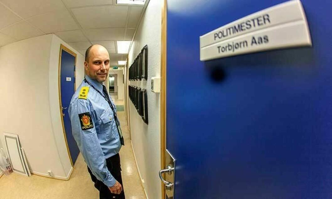 Politimester Torbjørn Aas forlot Vestfinnmark politidistrikt for å bli sykehusdirektør.