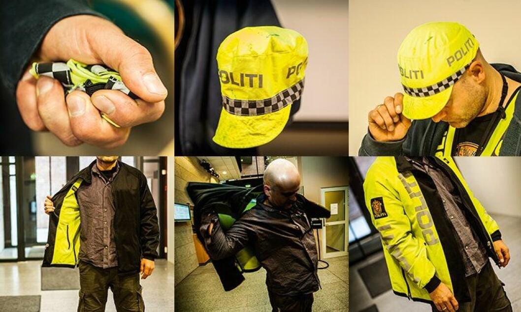 Politiets nye hurtiguniformering.