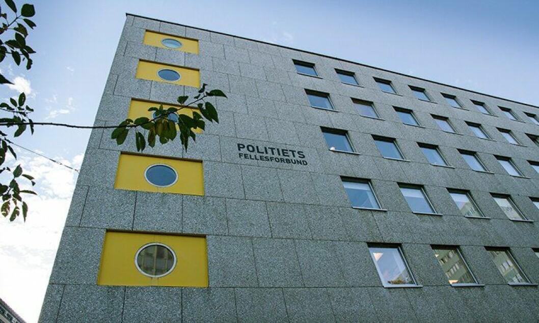 Politiets Fellesforbunds lokaler i Møllergata 39.