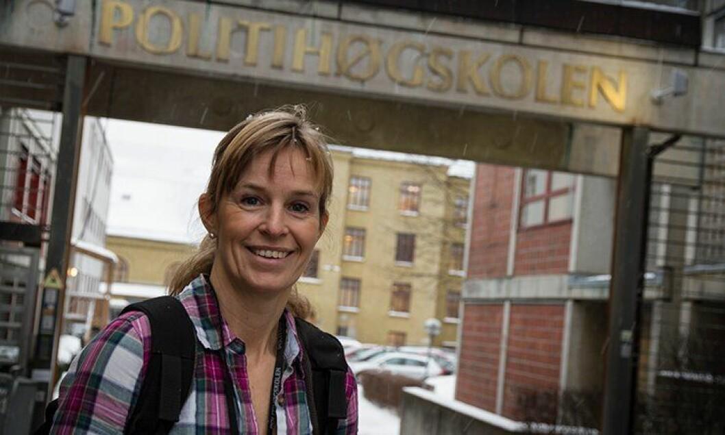 Frøydis Adamson (48) er Norges eldste politistudent.