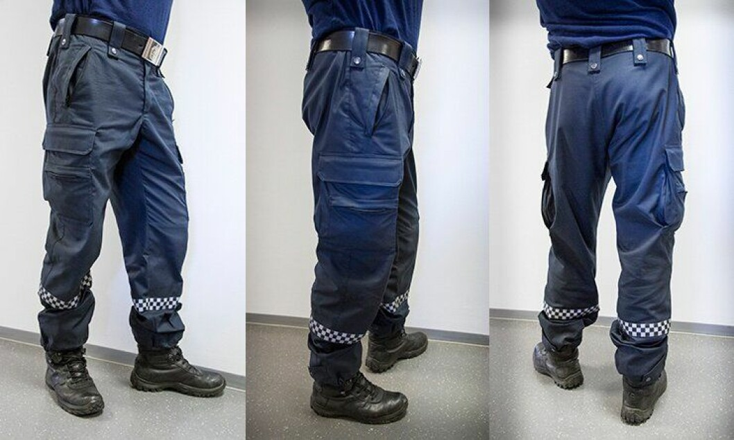 Politiets nye T2-bukse er lansert.