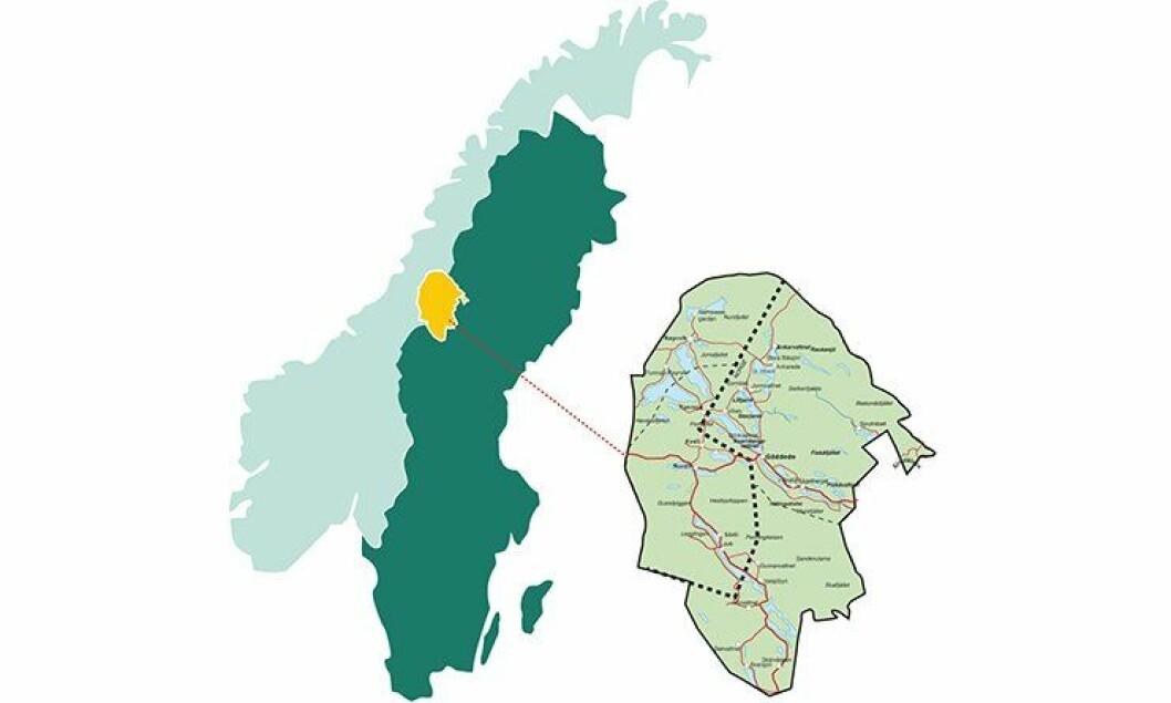 Vaajmaregionen går over to land og fire kommuner. Her skal norsk og svensk politi se på et samarbeid over grensa.